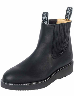 """Establo"" Work Boots Grasso - Black"