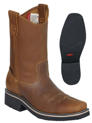 """Establo"" Crazy Work Boot - Mango"