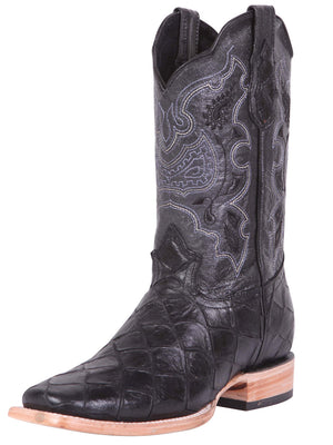 """El General""  Monster Rodeo Boot - Black"