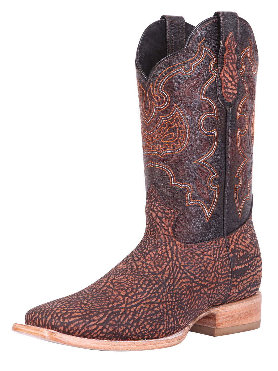 "Copy of ""El General""  Bull Fight Rodeo Boot - Gold"