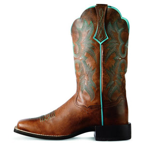 Ariat Women's Tombstone Boot Wide Square Toe - 10008017