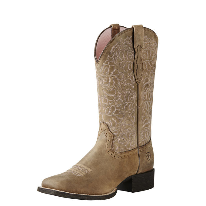 Women Square- toe Western Boot
