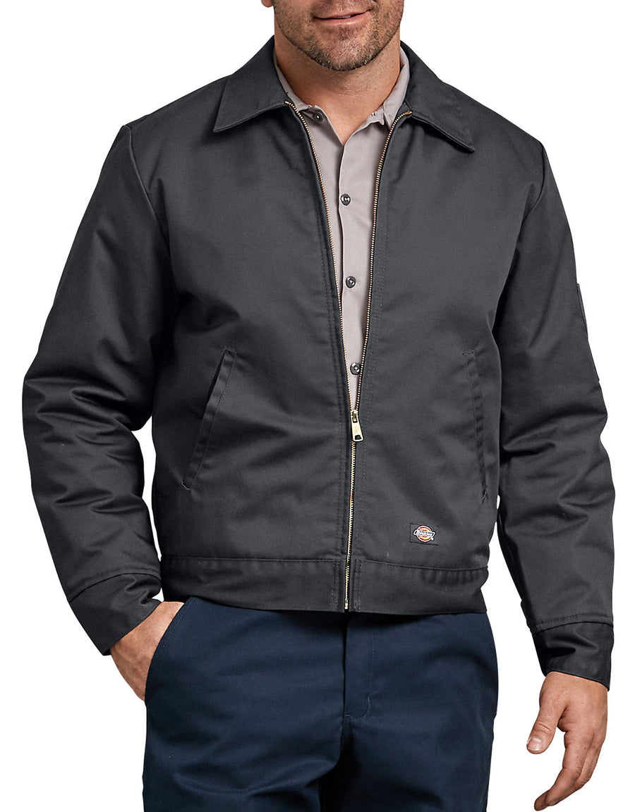 Insulated Eisenhower Jacket- Charcoal Gray