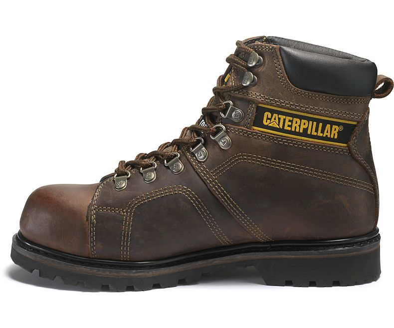 Silverton Steel Toe Work Boot- Brown