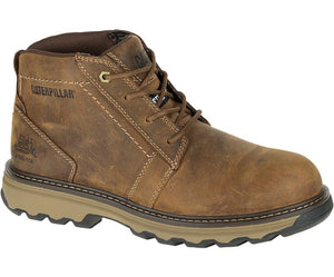 Men's Parker Steel Toe Work Boot- Dark Beige