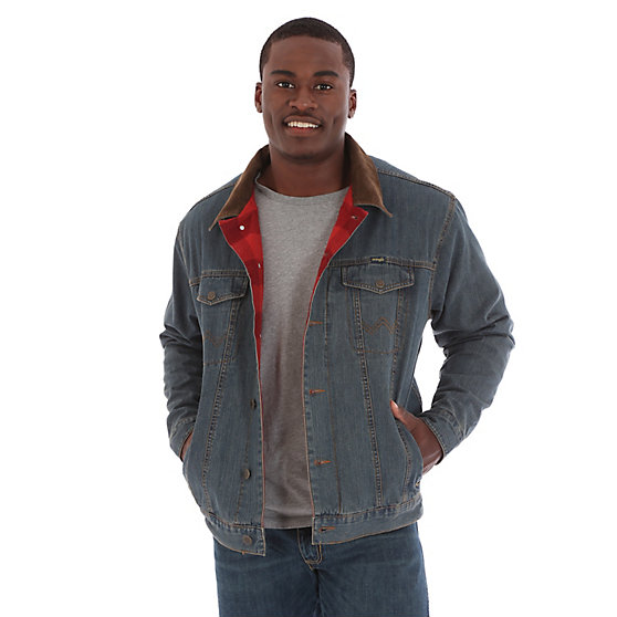 Blanket Line Denim Jacket- Rustic