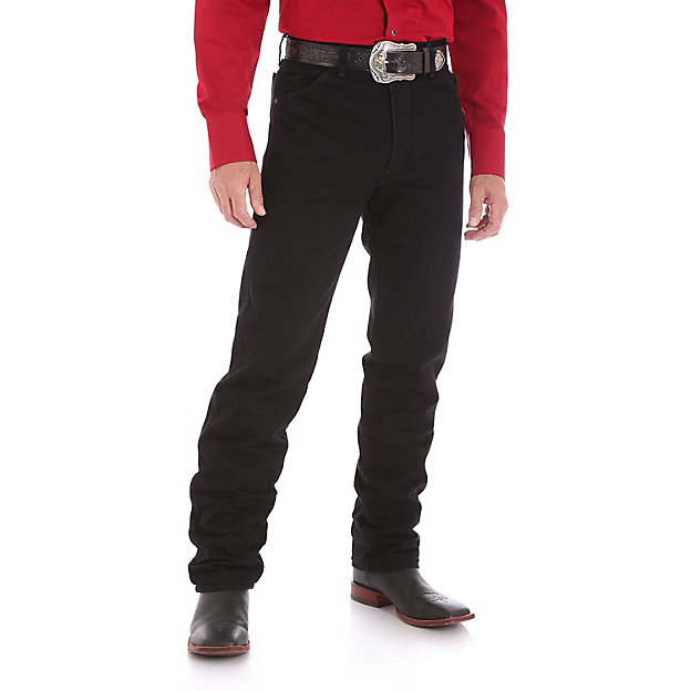 Cowboy Cut Silver Edition Original Fit Jean- Black