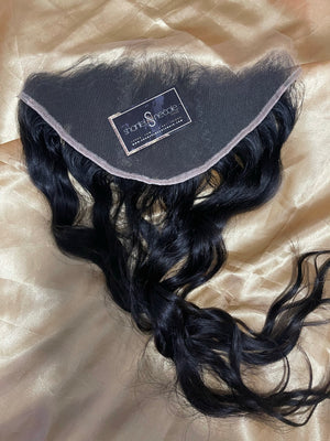 RAW Indian HD 13*6 Lace Frontal (ALL TEXTURES)