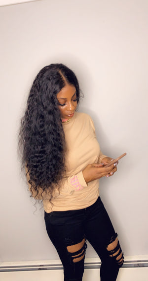 Raw Cambodian NON Coarse Full Lace Wig