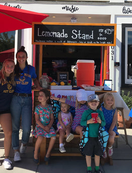 Sipping for Good: FEAST Lemonade Stand