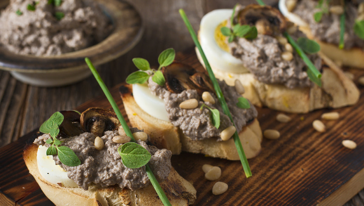 Truffled Egg Bruschetta