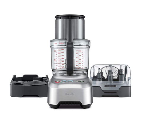 Breville Sous Chef 16 Peel & Dice All-In-One Food Processor Bundle w/Peeling and 12mm Dicing Attachment - BFP820