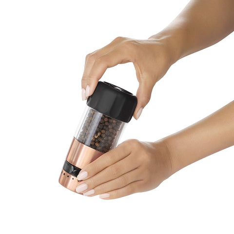 OXO Good Grips Accent Mess-Free Salt & Pepper Grinder