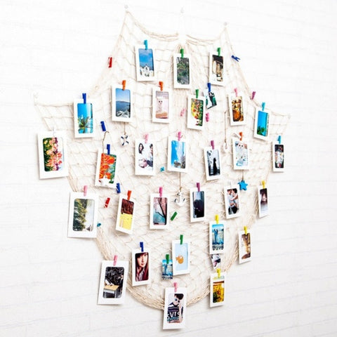 DIY Hanging Picture Photo Frame Display