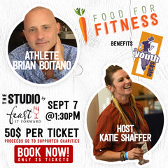 Food for Fitness (Brian Boitano + Host Katie Hamilton Shaffer)