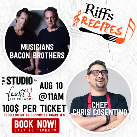 Riffs & Recipe (The Bacon Brothers + Chef Chris Cosentino)
