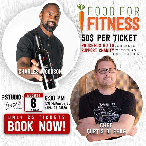 Food for Fitness (Charles Woodson + Chef Curtis Di Fede)