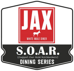 S.O.A.R. Outdoor Dining Series: Jax White Mule Diner (Saturday, October 17th)