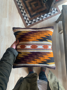 Indigenous Woven Pillow