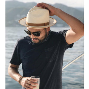 Toquilla Straw Hat - CLASSIC - Natural