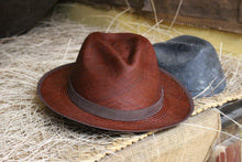 Handwoven Toquilla Straw Hat - THE CLASSIC - HICKORY BROWN