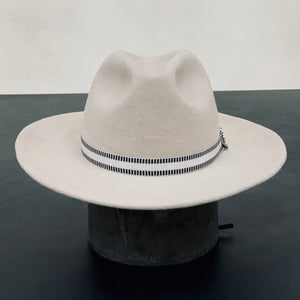 Paño Indiana Hat - White