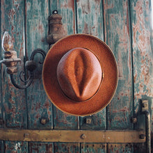 Handwoven Toquilla Straw Hat - THE CLASSIC - Tiger Brown