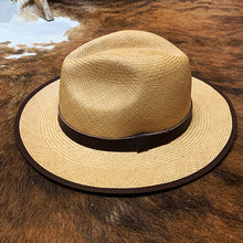 Handwoven Toquilla Straw Hat - THE CLASSIC - Navajo Beige