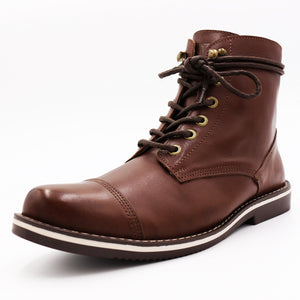* Leather Boots - THE HORSEMAN - HERITAGE BROWN