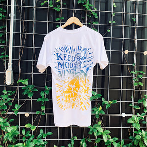 KEEP MOOVING TEE - WHITE (Summer Edition)