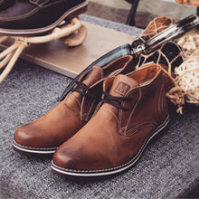 Leather Shoes - CHUKKA - HERITAGE BROWN