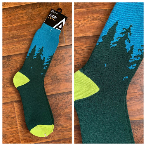 ACE USA FOREST - TOWEL (THICK) SOCKS