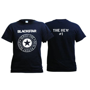 Blackstar Ramones t-shirt black short sleeved