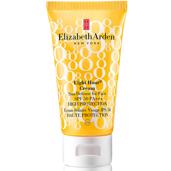 Elizabeth Arden Eight Hour Cream Sun Defense for Face High Protection SPF50 50ml - Grace Beauty