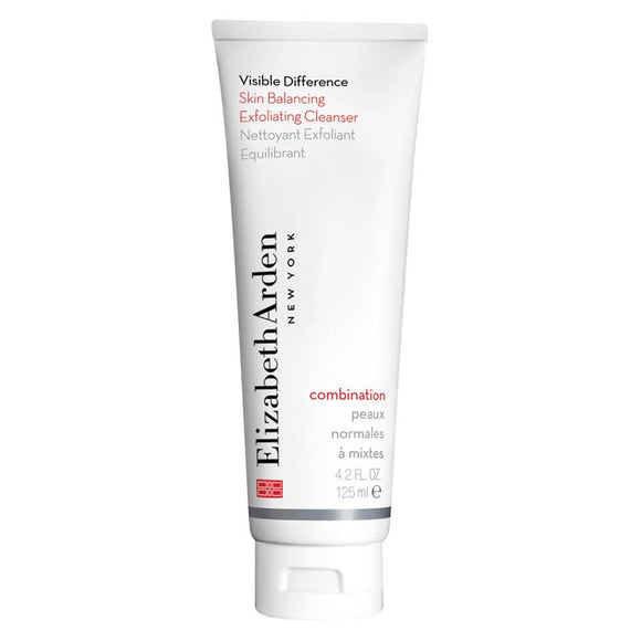 Elizabeth Arden Visible Difference Skin Balancing Exfoliating Cleanser 125ml - Combination - Grace Beauty