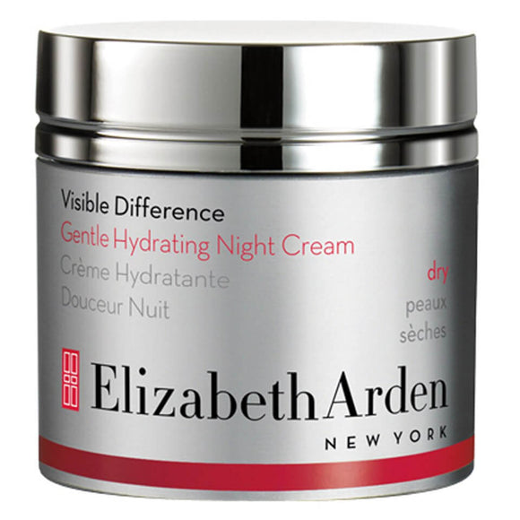 Elizabeth Arden Visible Difference Gentle Hydrating Night Cream - Dry 50ml - Grace Beauty