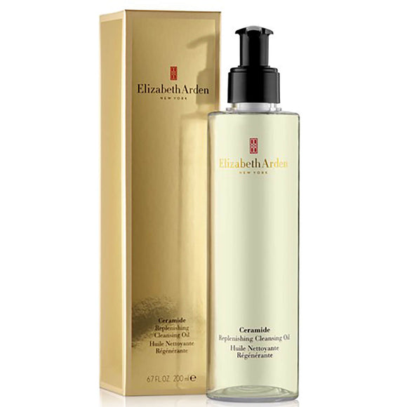 Elizabeth Arden Ceramide Replenishing Cleansing Oil 195ml - Grace Beauty