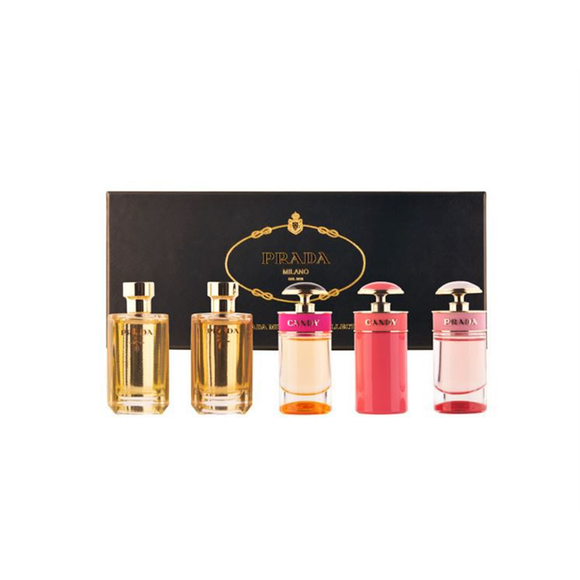 Prada Women Miniature Gift Set 5 Pieces