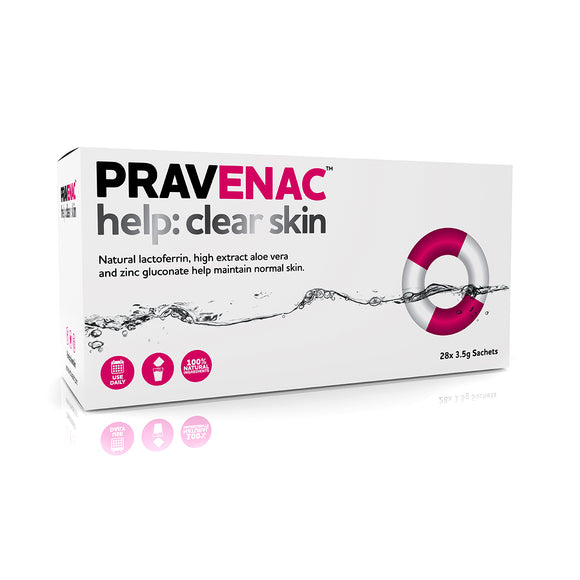 PRAVENAC help: clear skin™ 28 Sachet Pack (28 x 3.5g) - Grace Beauty