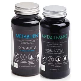 Metaburn Fat Burner & Metacleanse Detox - Grace Beauty