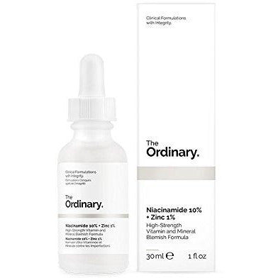 The Ordinary Niacinamide 10% + Zinc 1% High Strength Vitamin and Mineral Blemish Formula 30ml - Grace Beauty