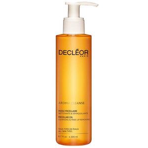 DECLÉOR Cleansing Micellar Oil 200ml / 400ml  (All Skin Types) - Grace Beauty