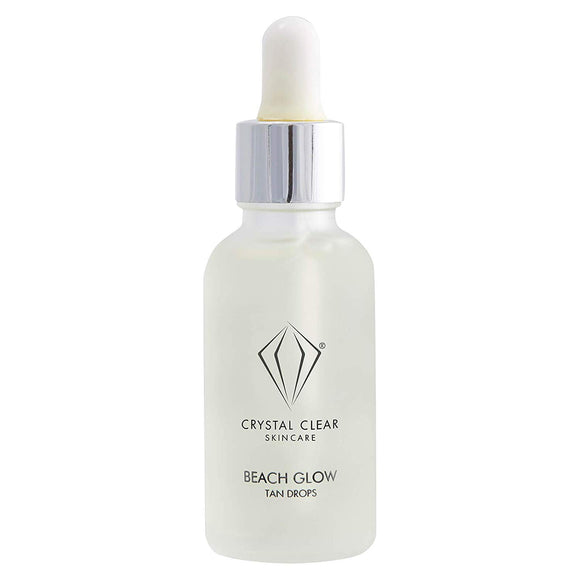 Crystal Clear Beach Glow Tan Drops 30ml - Grace Beauty