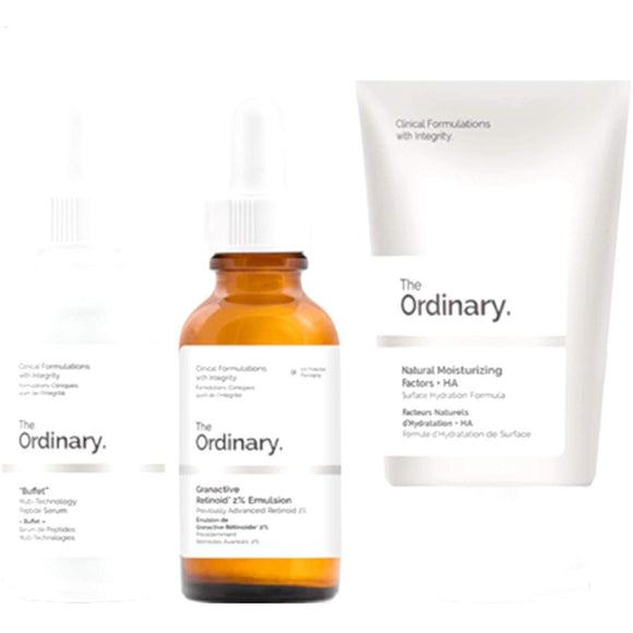 The Ordinary No–Brainer Set 3pieces - Grace Beauty