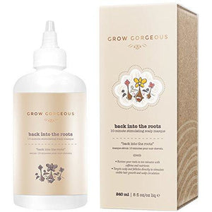 Grow Gorgeous Back Into the Roots 10 Minute Stimulating Scalp Masque (240ml) - Grace Beauty