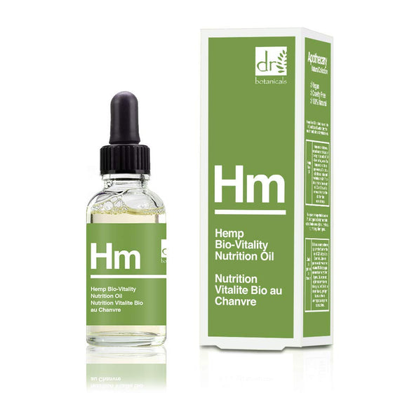 Dr. Botanicals Hemp Bio-Vitality Nutrition Facial Oil 15ml - Grace Beauty