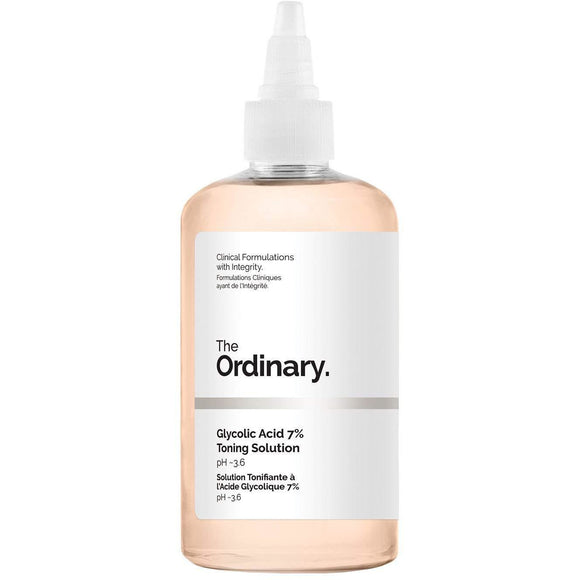 The Ordinary Glycolic Acid 7% Toning Solution 240ml - Grace Beauty