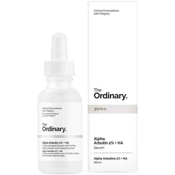 The Ordinary Alpha Arbutin 2% + HA Concentrated Serum 30ml - Grace Beauty