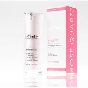 SkinChemists London Rose Quartz Mineral Facial Serum 30ml - Grace Beauty