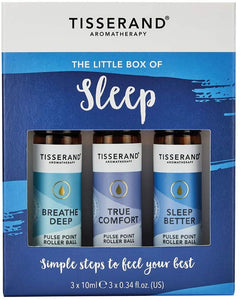 Tisserand Aromatherapy Little Box Of Sleep Rollerball Kit 3x10ml